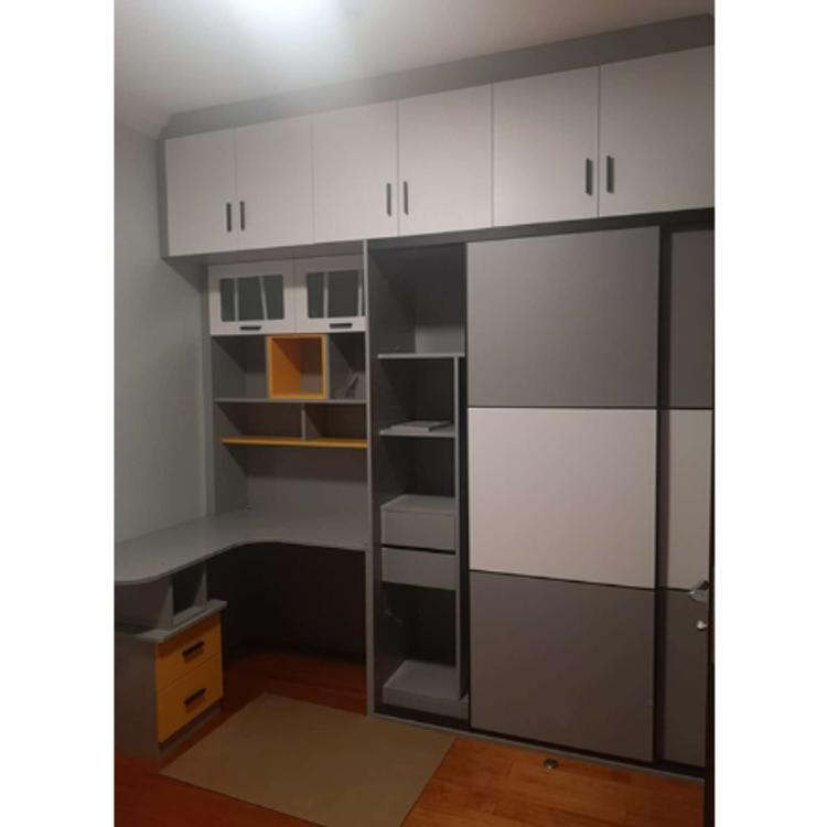 移门衣柜定制 厂家直销 现代简约衣柜 平开门实木质经济型移门衣柜
