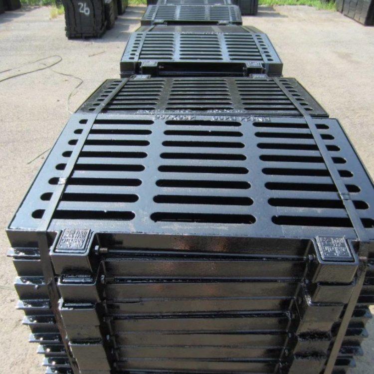 球墨铸铁沟盖板现货 污水球墨铸铁沟盖板定做 运通达