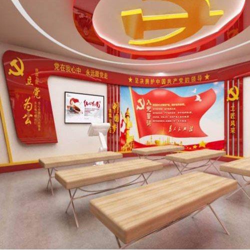 党建文化馆设计理念 笔中展览 政府党建文化馆施工公司