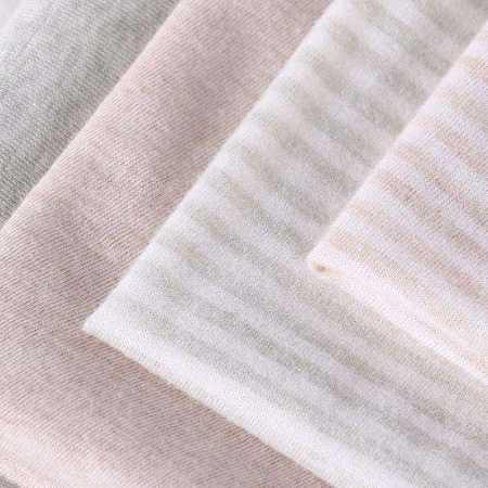 厂家直销有机织物染色棉弹汗布 长绒棉全棉面料