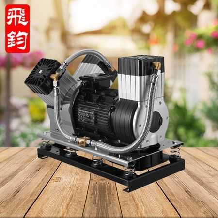 飞钧压缩机-无油空气压缩机 砂浆喷涂机专用全无油空压机