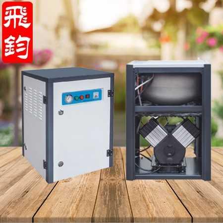 飞钧空压机 无油空压机仪器仪表用空压机 箱式静音空压机