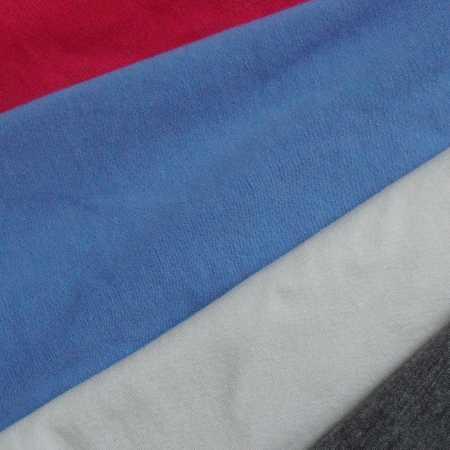针织布料厂家直销全棉针织面料 重消毛纯棉氨纶汗布