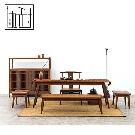 新中式家具阳台桌椅组合休闲藤椅子茶几套件咖啡厅庭院