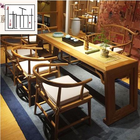 白蜡木藤椅茶几组合时尚休闲椅子户外家具阳台桌椅套件