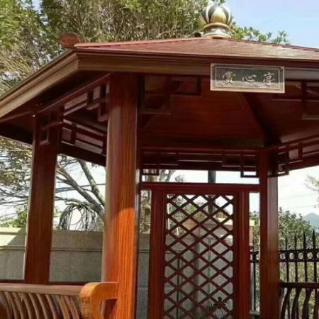 佛山雅致宜嘉庭院長廊植物簡易爬藤金屬花架子鋁合金仿木鋼架結構涼亭葡萄架