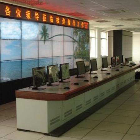 厂家直销监控操作台指挥中心调度台监控台安防设备柜控制台