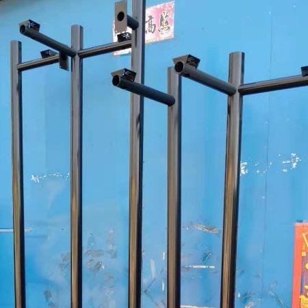防盗摄像监控立杆 监控灯杆 不锈钢灯杆 1米2米3米4米5米6米