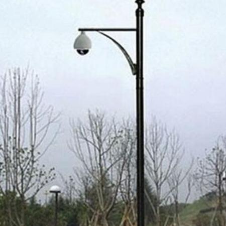 监控立杆2米2.5米3米3.5米4米5米6米监控杆立杆小区不锈钢立柱