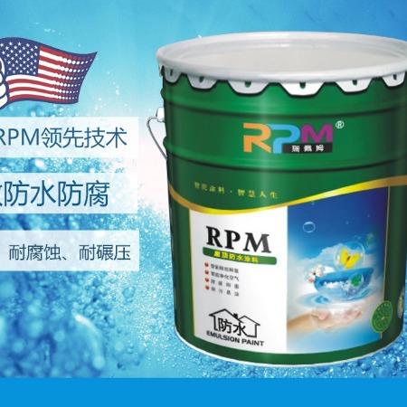 瑞佩姆rpm108智能楼顶防水隔热涂料楼顶屋顶水泥基防水隔热降温智能防水防霉耐污易擦洗耐用夏季防水隔热两用一体智能涂料