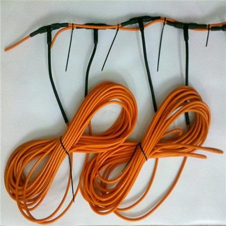 暖康厂家直销硅胶碳纤维加热线价格 螺旋加热线硅胶镍铬发热线安装 电热线生产厂家