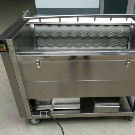 毛刷式洗菜机 土豆去皮机 核桃去皮机 多隆设备售全国