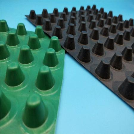 排水板生产厂家批发-PVC塑料-屋顶车库排水板-蓄排水板丨凹凸排水板-孔明工程