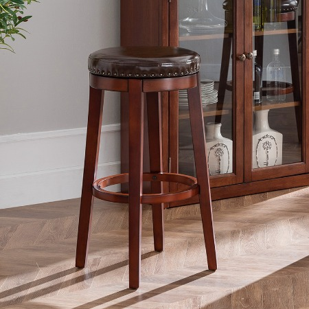 欧式吧凳实木吧凳美式吧台凳简约凳子巴凳家用酒吧椅吧台凳高脚凳
