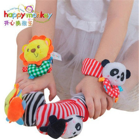 HAPPY MONKEY益智玩具婴儿手腕带饰品玩具玩具项目合作