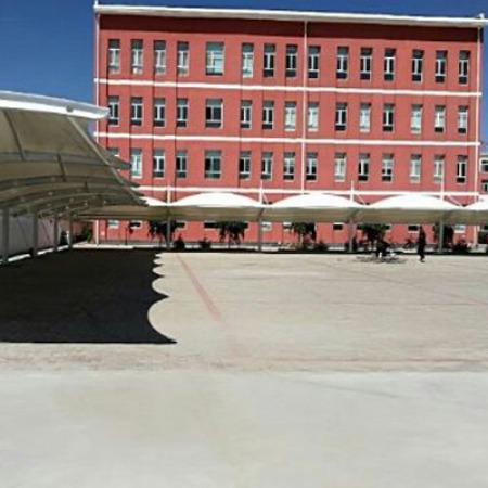 景悦厂家定做 汽车公交车站雨棚 景观遮阳车棚