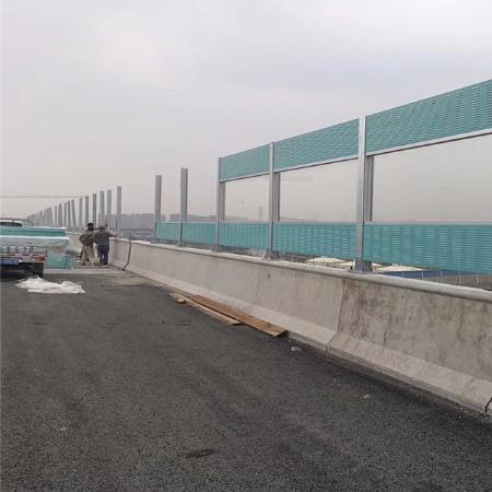 广强公司专业生产 高速公路声屏障 小区声屏障 桥梁声屏障 透明声屏障可加工定做