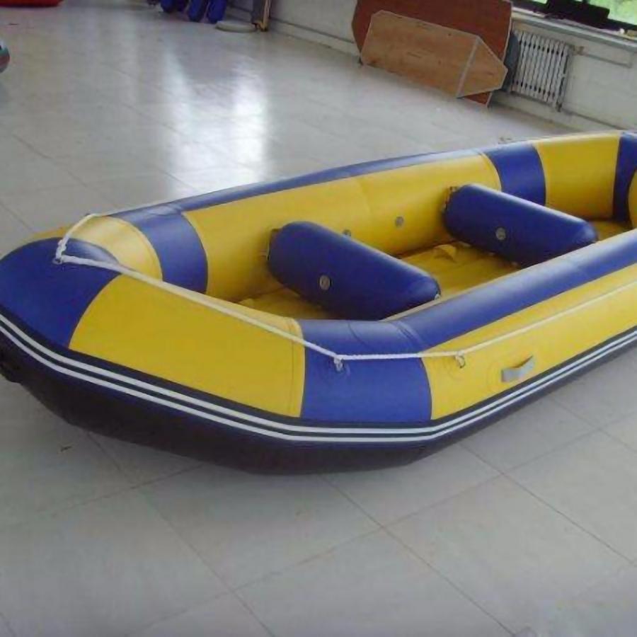 瑞利充气漂流船 pvc橡皮艇价格充气式钓鱼船质优价低舒适