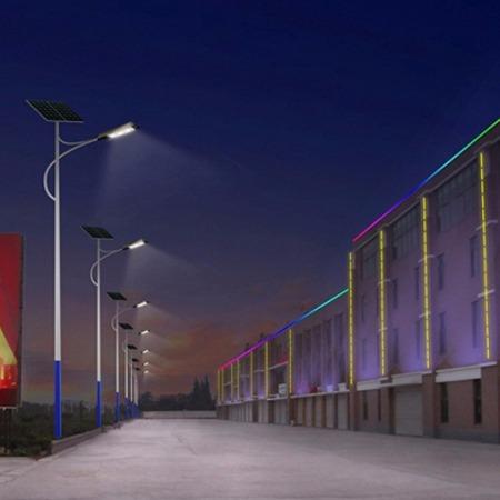 工厂太阳能路灯 100瓦太阳能路灯厂家 天泽太阳能路灯报价 厂家直销
