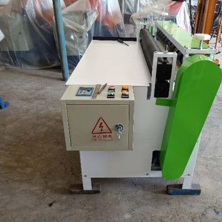 河北诺远机械制造 橡胶分条机 呢绒皮革分条机 立式液压切胶机