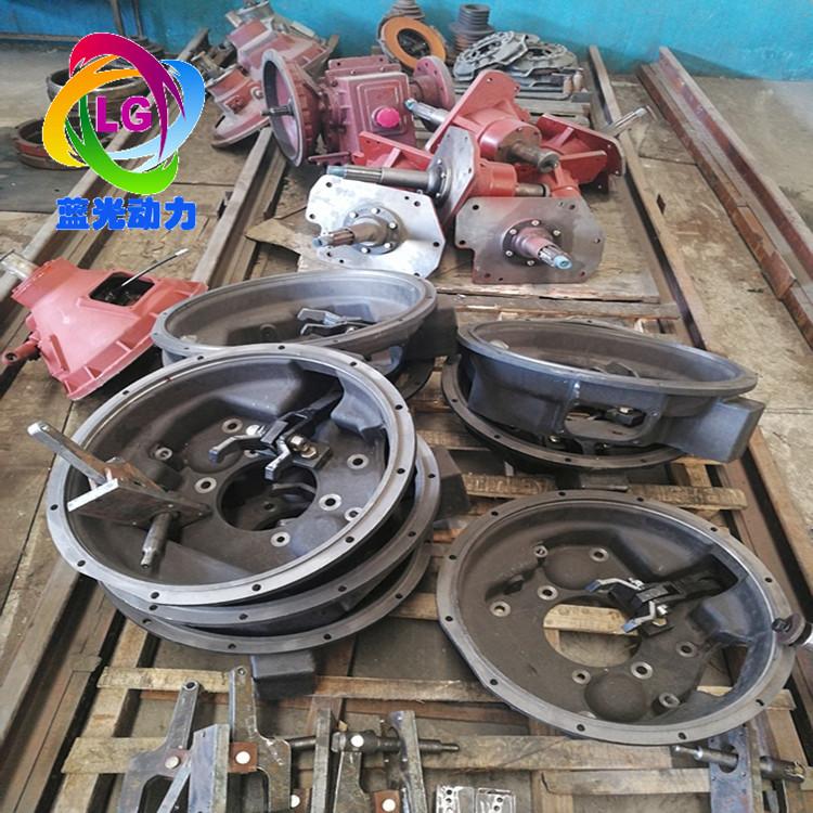 潍柴斯太尔6126离合器车机改座机拉式离合器带皮带轮