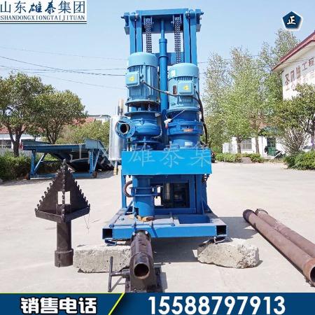 专业制造SJZ-500F四寸反循环钻机 民用小型电动打井机 移动便捷