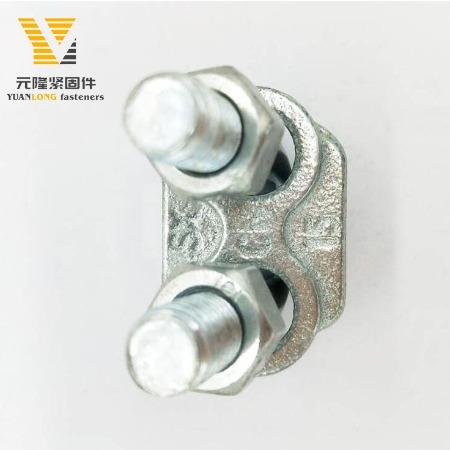 元隆提供各种不锈钢材质钢丝绳卡头 100%不锈钢316意式卡头