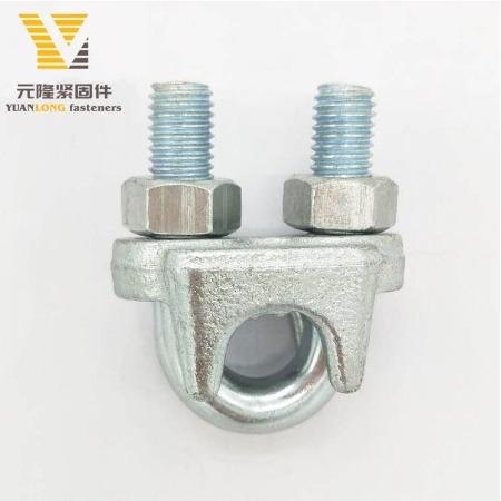 永年厂家提供各种不锈钢材质钢丝绳卡头 100%不锈钢316意式卡头现货供应