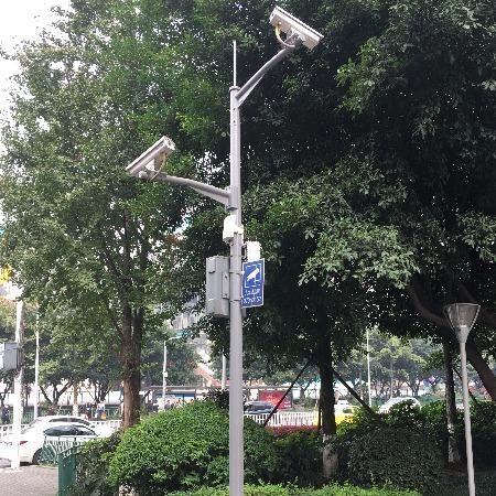 【侨峰】2-8米监控立杆 摄像机立杆 枪机球机立杆 小区道路厂房立杆