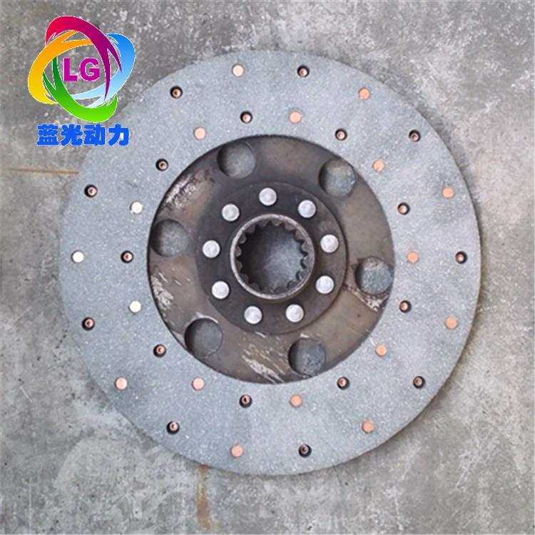 潍坊潍柴4100 4102柴油机离合器片压盘皮带轮离合器轴