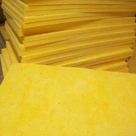 玻璃棉板 吸音阻燃带铝箔离心玻璃棉纤维复合板
