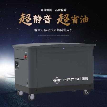 进口10kw15kw20kw汽油多燃料发电机别墅用汽油发电机