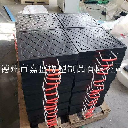 厂家直销高分子支腿垫板 大吨位起重机支腿垫板