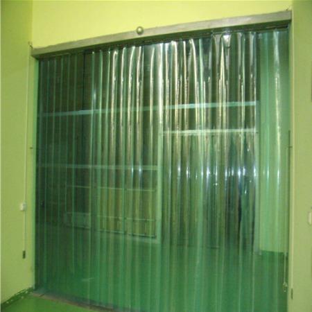 PVC防静电门帘 防静电透明门帘 无尘车间透明隔断帘 生产批发可按需订购/科尔西纳