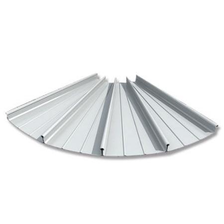 陕西西安 65-430型铝镁锰合金屋面板 机场铝合金金属屋面瓦 铝镁锰装饰面板
