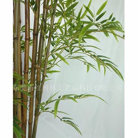 仿真竹子 仿真植物 假竹子盆景 东莞市红树林厂家 塑胶家居布置装饰