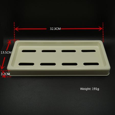 酒店浴室塑料托盘 ABS塑料托盘 洗漱用品收纳盘 卫浴用品收纳盒