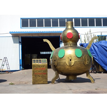 山东金德莱JDL12商用电烤鱼炉大型木炭无烟烤鱼机