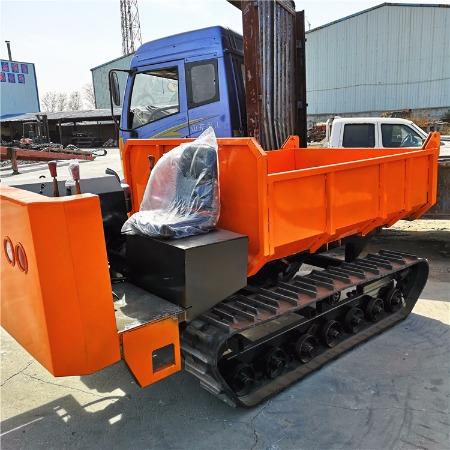 厂家直销座驾式履带车 工程建筑行业使用运输车 山地果园搬运车 液压自卸3吨运货车