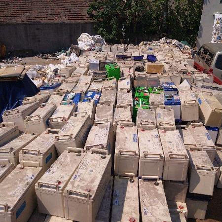 杭州回收汽车电瓶-单位废旧电瓶UPS电池回收
