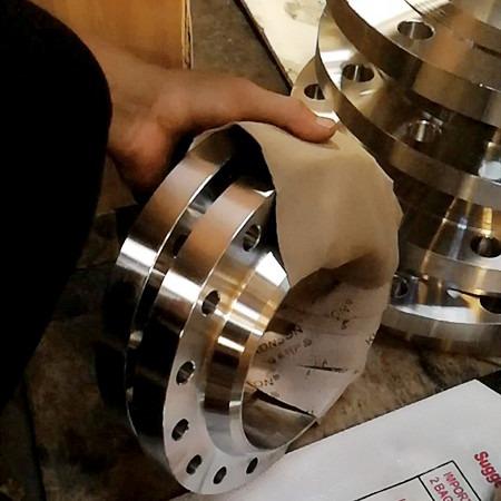 博岩厂家销售 不锈钢国标304带颈对焊法兰 厂家规模大 效益好