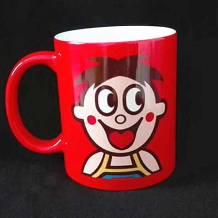 淄博陶瓷杯厂家 新品礼品马克杯 热转印涂层照片杯 创意陶瓷变色咖啡杯 定制批发