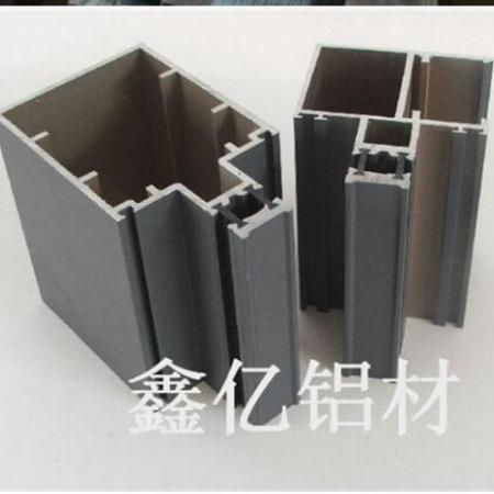 断桥隔热铝材 明框幕墙型材 铝合金矩形管材 质量优 厂家直供