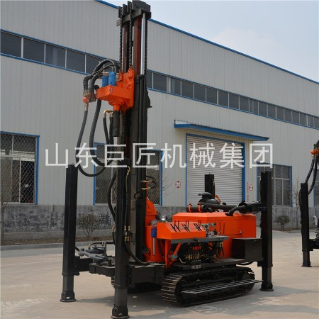 巨匠集团FY-180履带式气动水井钻机打岩石钻机
