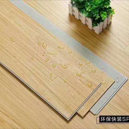 山东临沂美程牌石塑地板厂家直销_室内地板家用防水防火耐磨