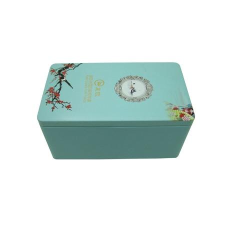 家齐制罐厂供应长方形茶叶包装铁盒密封包装铁盒马口铁茶叶铁盒