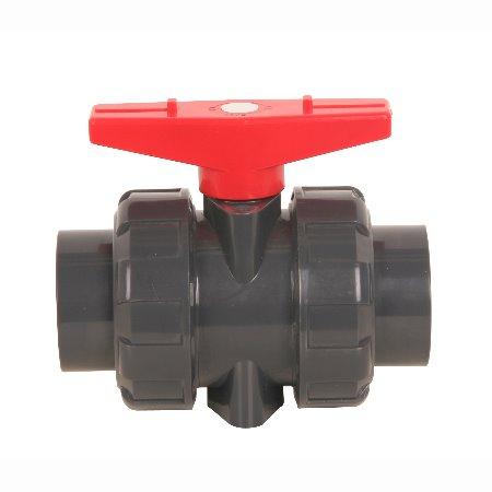 常州西塔塑胶制品专业生产PVC双活接球阀 厂家生产规格齐全 DN20