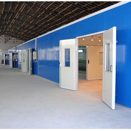 环保设备生产厂家 无尘防静电家具喷漆房烤漆房
