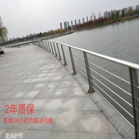 河道304不锈钢护栏 不锈钢栏杆厂家直供 7天内发货[阳海护栏]