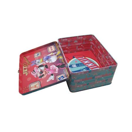 广东铁盒i子加工厂订做马口铁礼品铁罐方形手挽盒铁盒